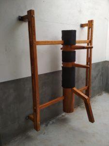 Adjustable Wall Mounted Wooden Dummy