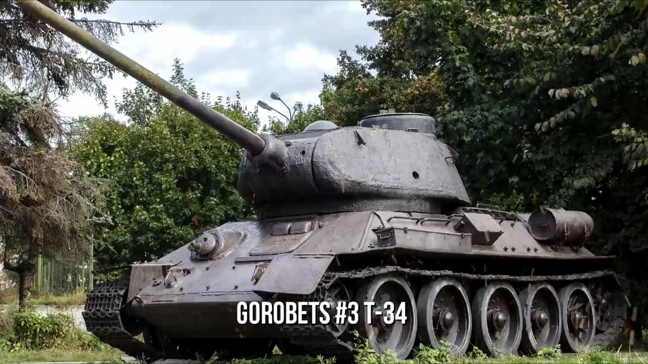 10 Badass Warriors Of All Time - Stepan Gorobets - T34